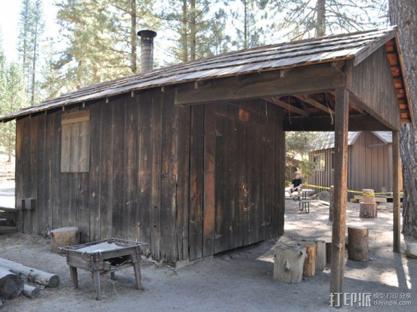 Yosemite铁匠铺  3D模型  图1