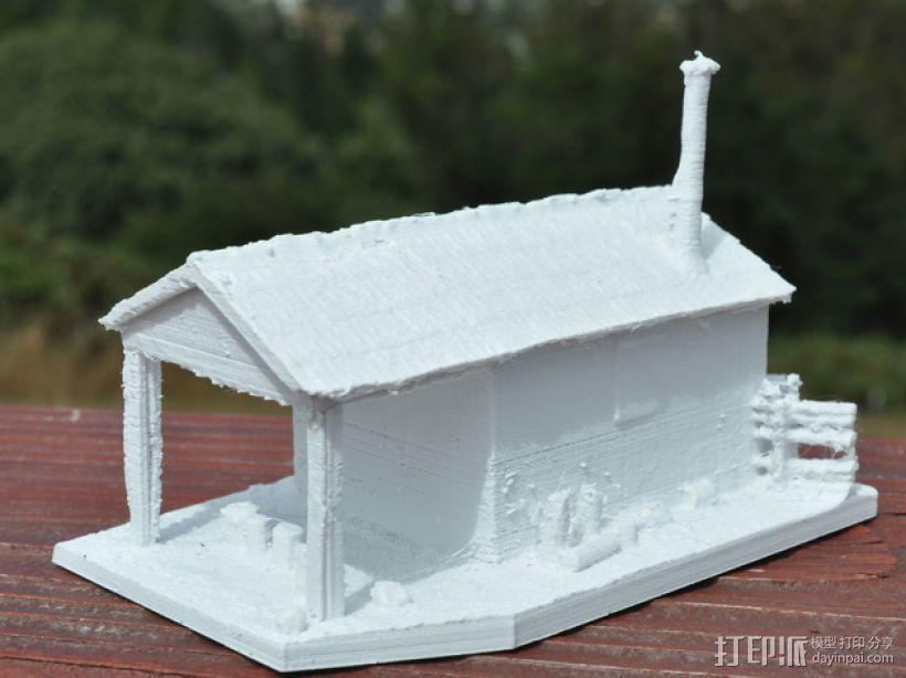 Yosemite铁匠铺  3D模型  图3