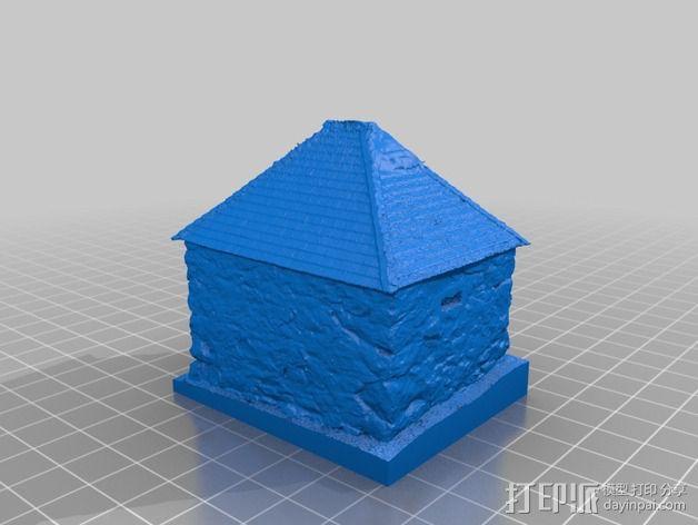 Yosemite监狱 3D模型  图2