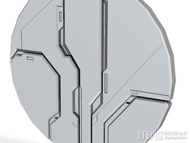 光晕4 防护盾 3D模型  图2