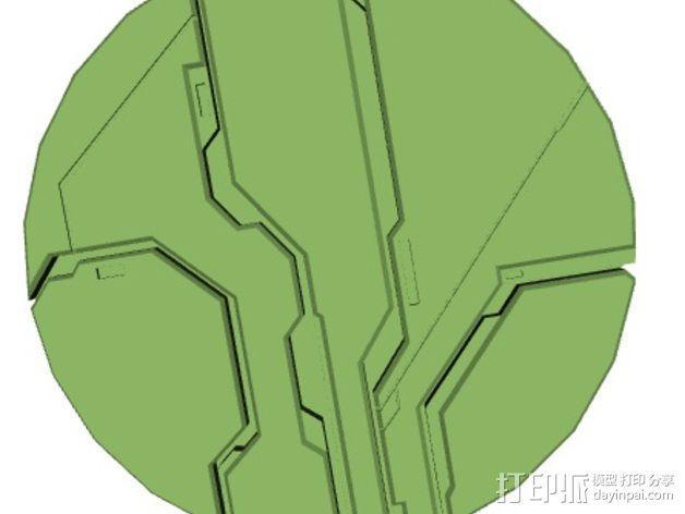 光晕4 防护盾 3D模型  图4