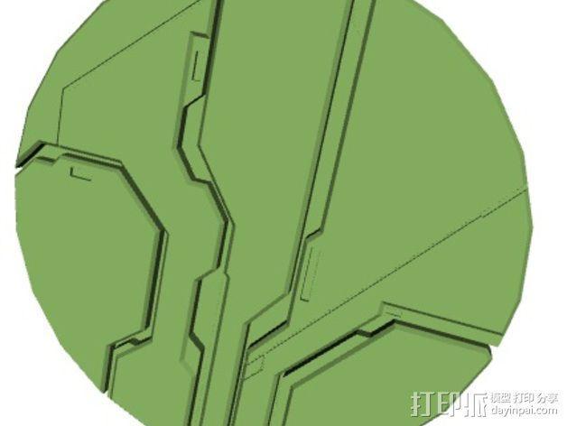 光晕4 防护盾 3D模型  图3