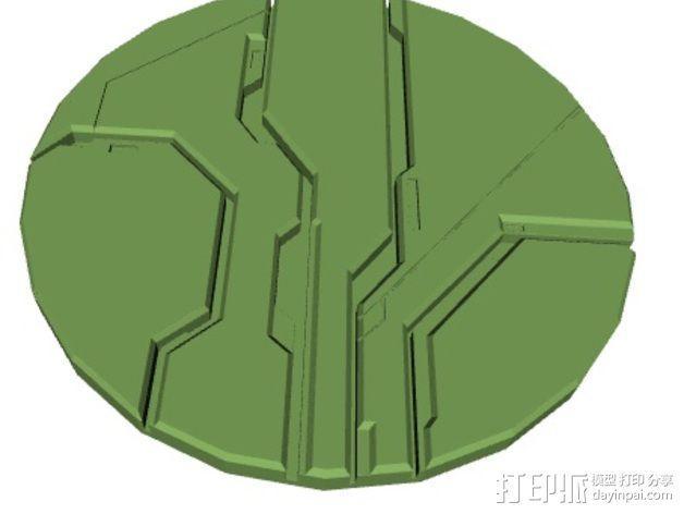 光晕4 防护盾 3D模型  图5