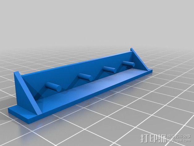 货架 搁板 3D模型  图2
