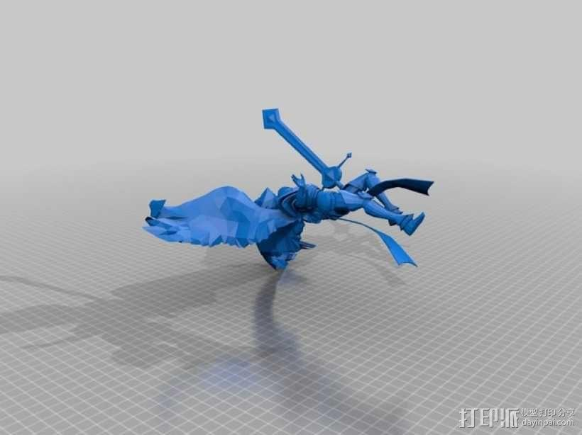 大天使长模型 3D模型  图1