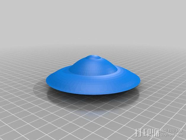 飞碟 外星飞行物 3D模型  图2