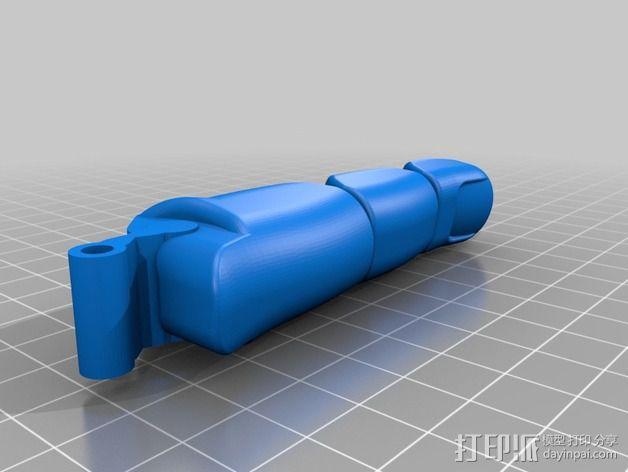 可弯曲的手指 3D模型  图16