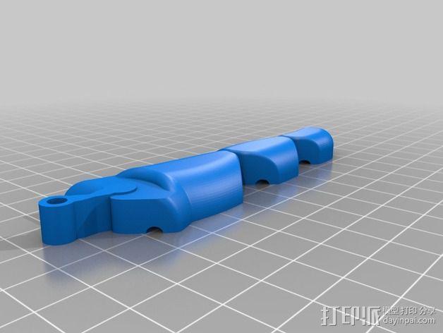 可弯曲的手指 3D模型  图23