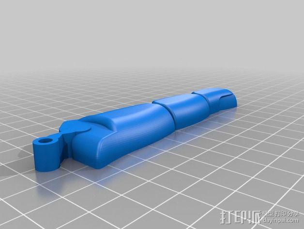 可弯曲的手指 3D模型  图24