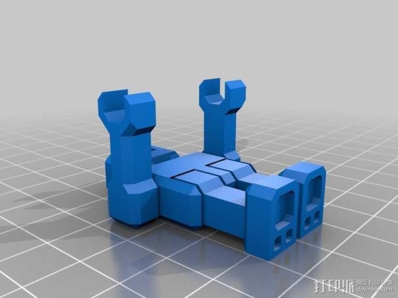 乐高机器人 3D模型  图2