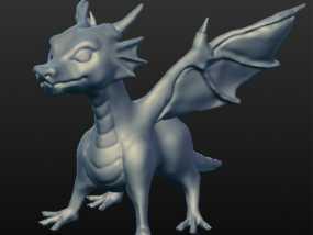 龙宝宝模型 3D模型