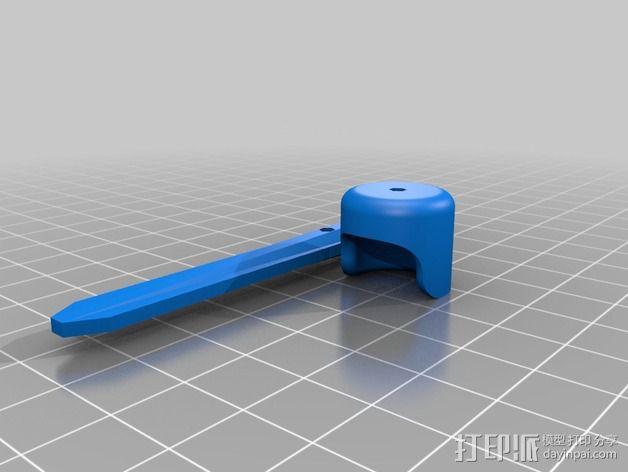手脚可动的机器人 3D模型  图5