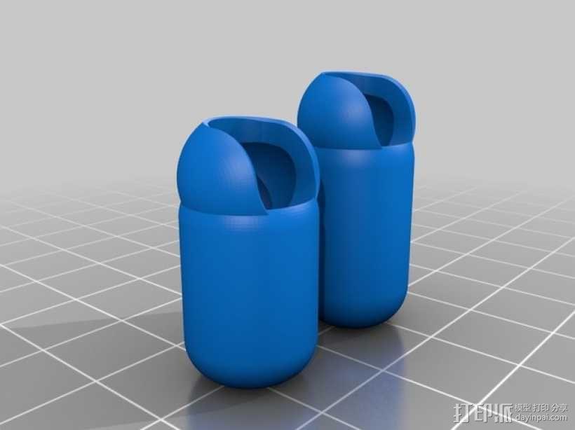 手脚可动的机器人 3D模型  图7