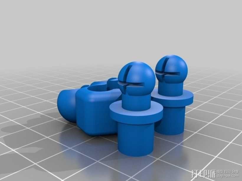 手脚可动的机器人 3D模型  图6