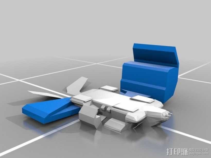 外星人运输机 3D模型  图2
