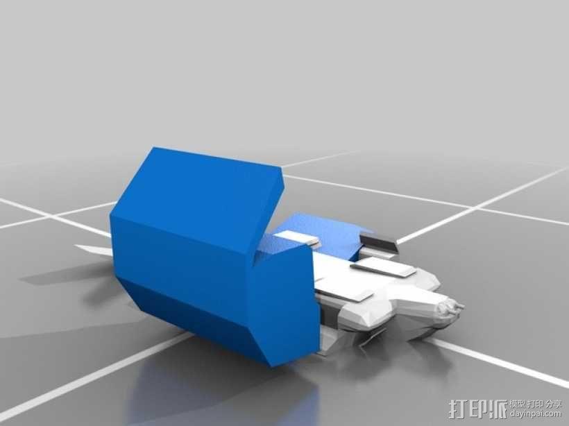 外星人运输机 3D模型  图3