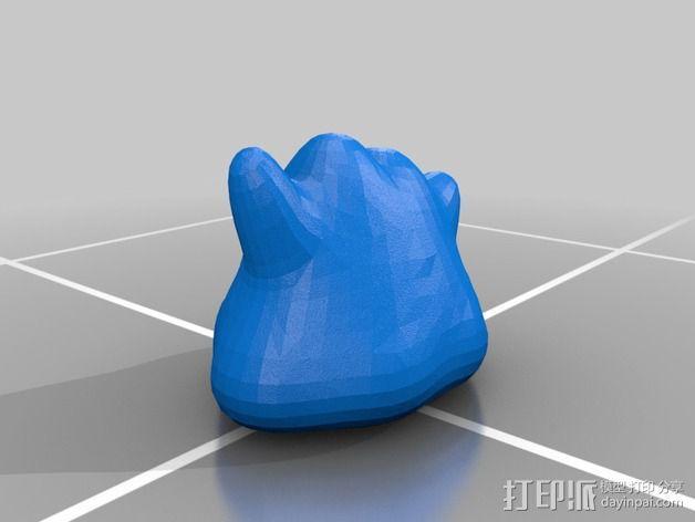 口袋妖怪 百变怪 3D模型  图2
