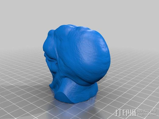 Bent Copper外星人模型 3D模型  图3