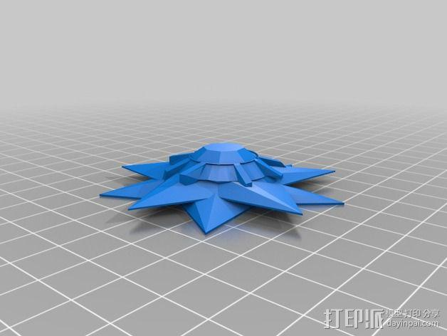 口袋妖怪宝石海星  3D模型  图2