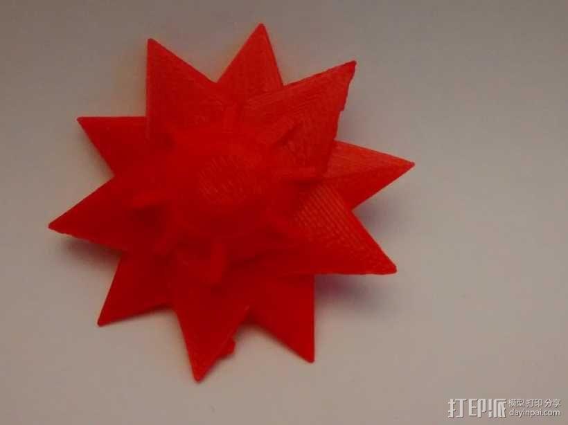 口袋妖怪宝石海星  3D模型  图1