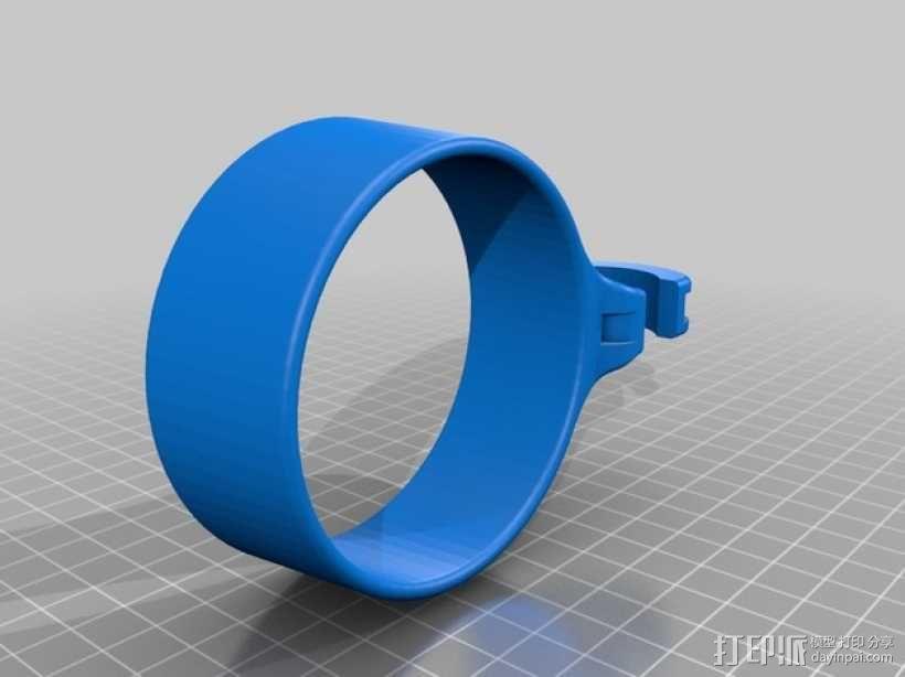 咖啡杯托 3D模型  图1