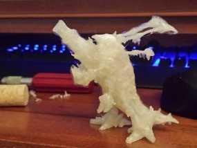 巨口克格莫 3D模型
