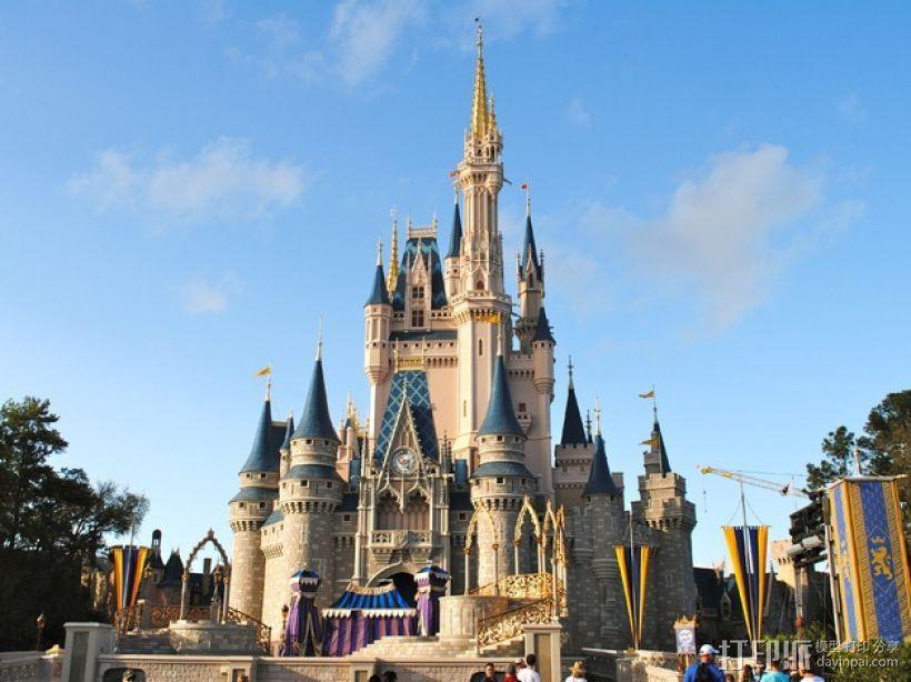 魔法城堡 3D模型  图5