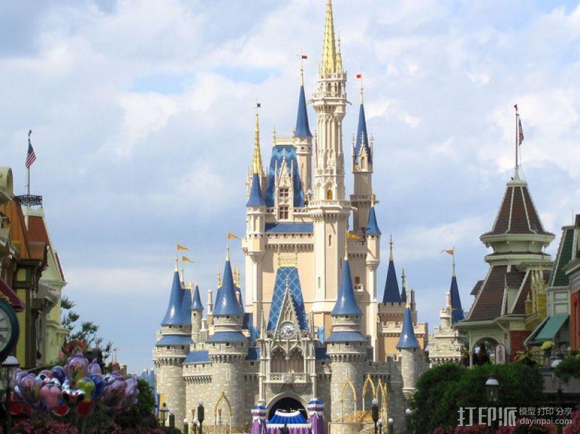 魔法城堡 3D模型  图3