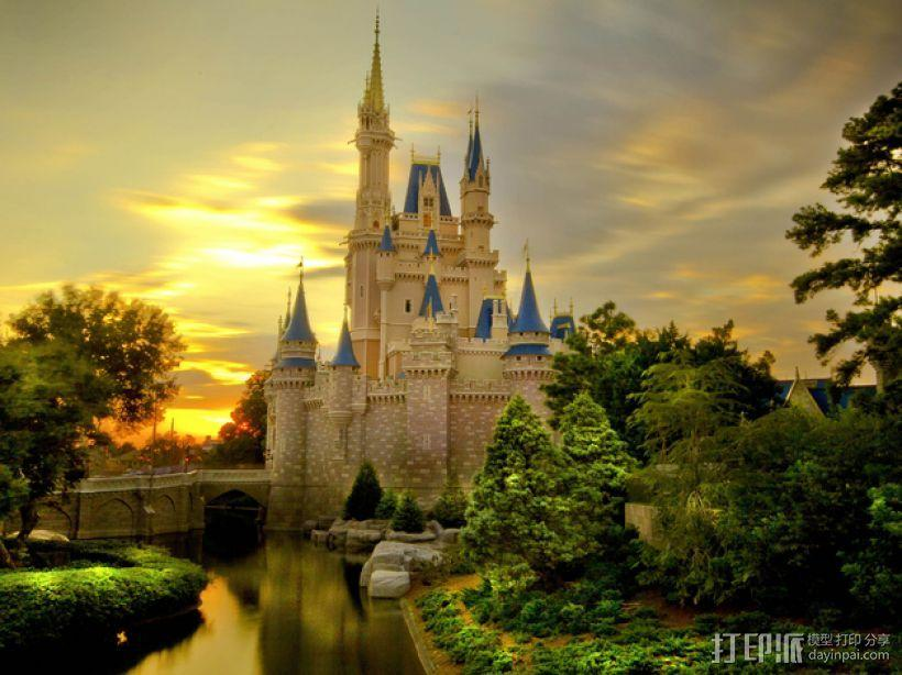 魔法城堡 3D模型  图6