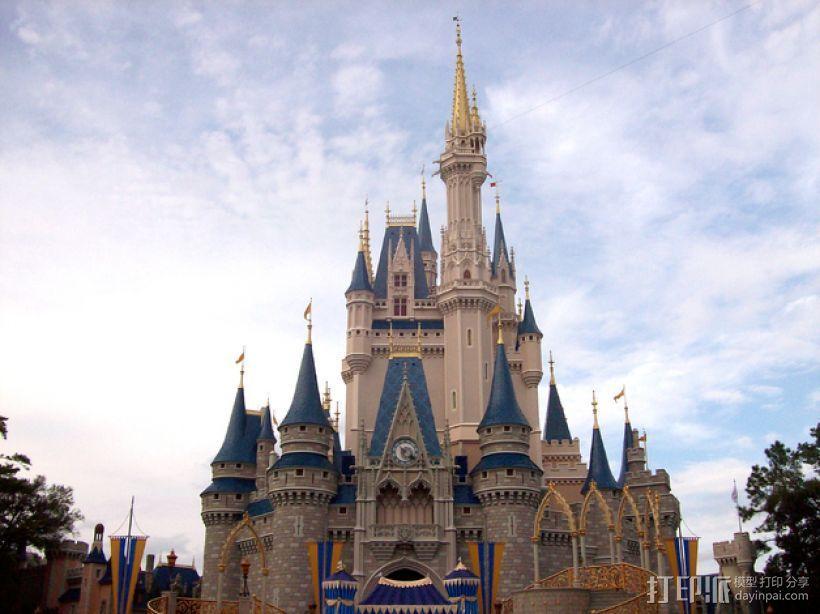 魔法城堡 3D模型  图7