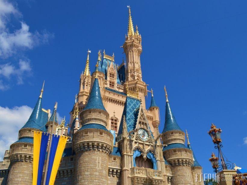 魔法城堡 3D模型  图8