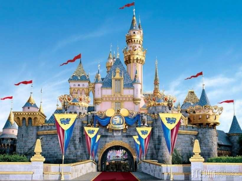 魔法城堡 3D模型  图10