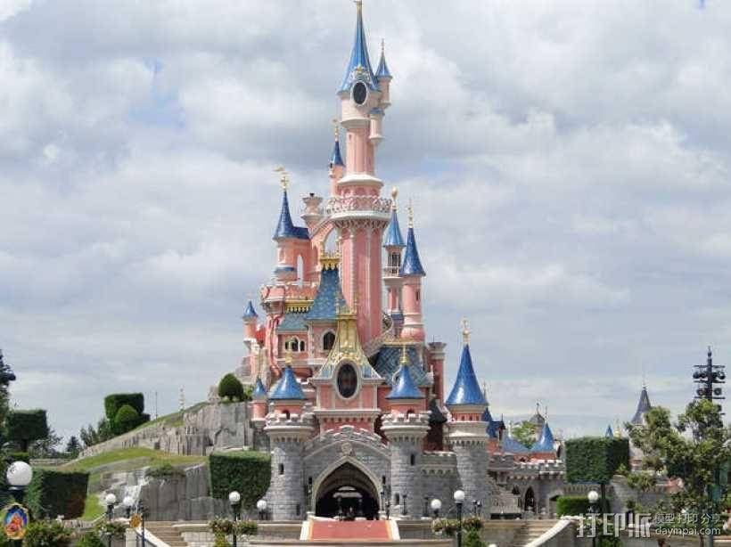 魔法城堡 3D模型  图13