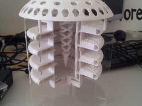 火星栖息地 3D模型