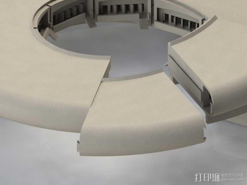火星栖息地 3D模型  图5