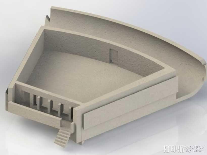 火星栖息地 3D模型  图4