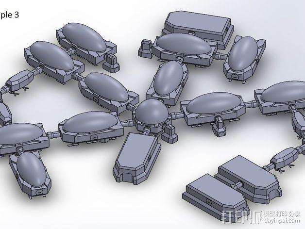 模组化火星基地 3D模型  图3