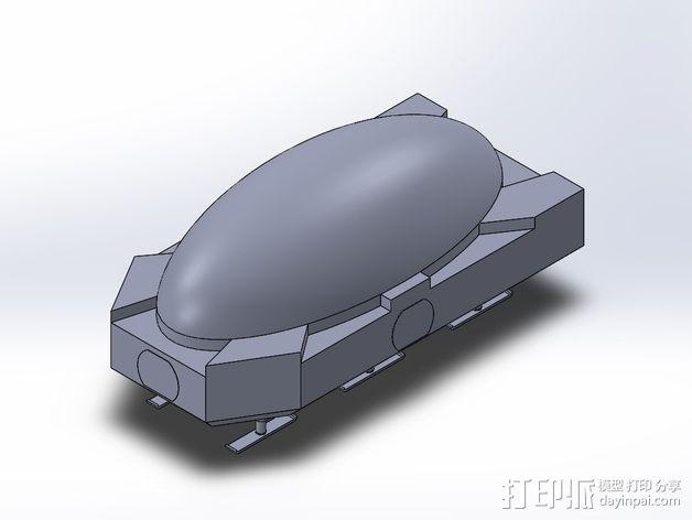 模组化火星基地 3D模型  图8