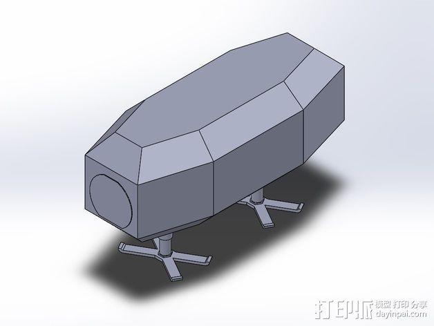 模组化火星基地 3D模型  图11