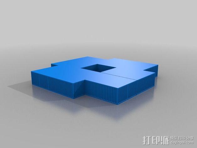 Mawer塔 3D模型  图3