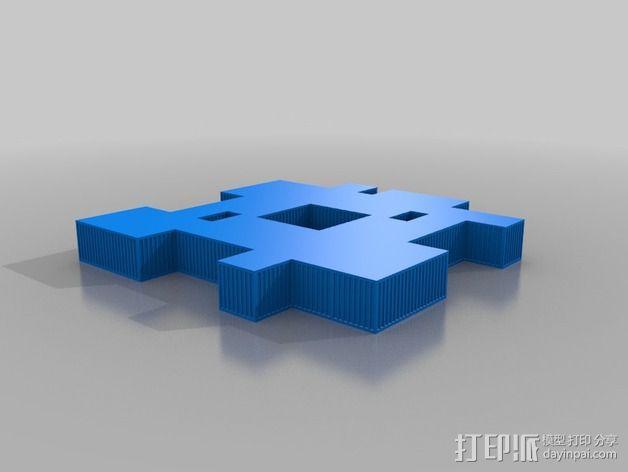Mawer塔 3D模型  图16