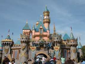 迪斯尼乐园 睡美人城堡 3D模型