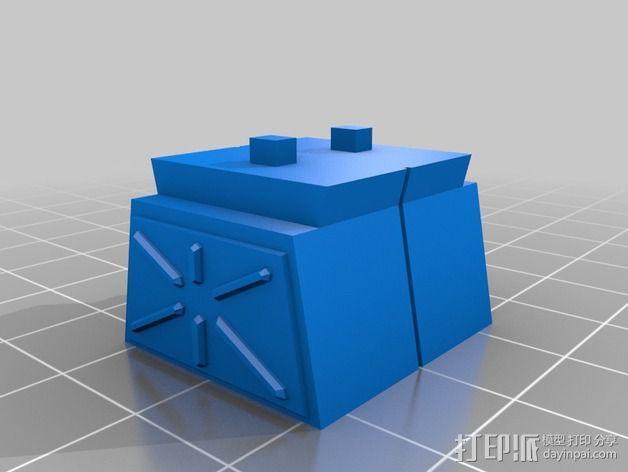 迷失太空B9机器人 3D模型  图5