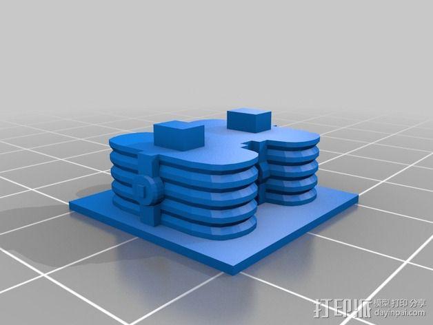 迷失太空B9机器人 3D模型  图6