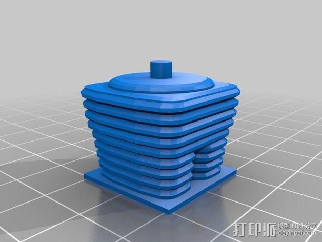 迷失太空B9机器人 3D模型  图7