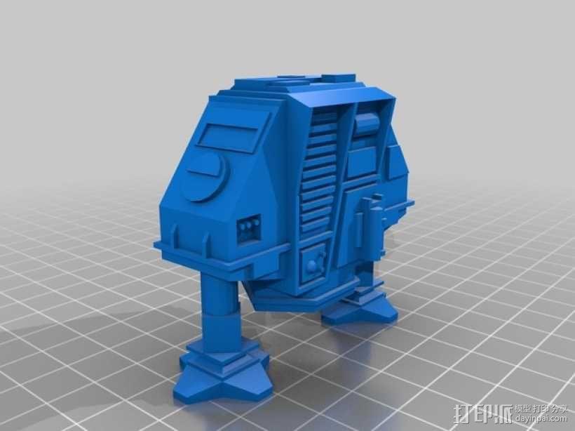 Dewey机器人  3D模型  图2