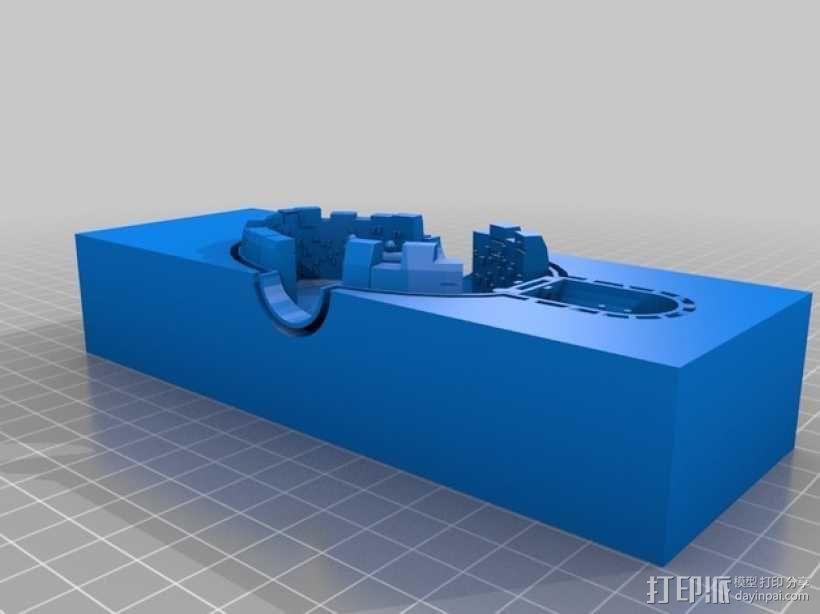 迷你火星基地 3D模型  图6