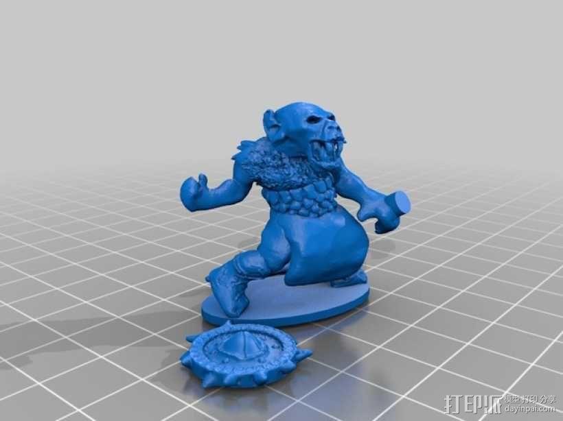 哥布林模型 3D模型  图3
