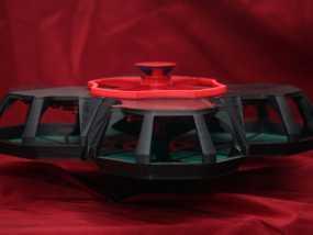火星城市建筑  3D模型