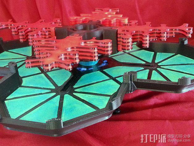 火星城市建筑  3D模型  图13